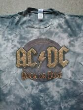 AC//DC Highway to Hell Band-Merch Red Photo 1979 Tour M/änner T-Shirt grau meliert Bands
