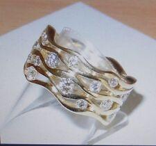 Top Designer Ring 27 BRILLANTEN 1,31 carat , alle Größen,alle Goldfarben