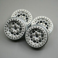 "1/4pcs RC Alloy Beadlock 1.9"" Wheels Rims for AXIAL SCX10 D90 TRX4 CC01 Crawler"