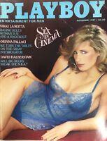 Vintage PLAYBOY Magazine Nov 1981 Cover Teri Petersen Playmate Shannon Tweed #D2