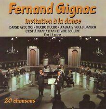 Fernand Gignac CD Invitation a La Danse rare OOP