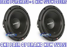 "(2) ROCKFORD FOSGATE R2D4-10 1000W 10"" Dual 4 ohm Prime Stage 2 Car Subwoofers"