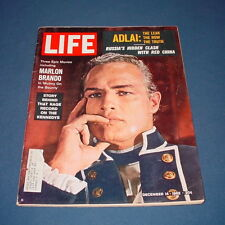 LIFE MAGAZINE DECEMBER 14 1962 MARLON BRANDO MUTINY ON THE BOUNTY RED CHINA