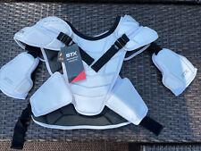 STX Shadow White Lacrosse Shoulder Pad Large