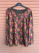 SALE!!! NWT Gudrun Sjöden Amazonas Top Blouse Size L Very Soft Fall/winter 2016