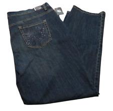 NEW! GLORIA VANDERBILT Amanda Jeans ~ Plus Size 16W  $52 NWT  Box B