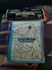More details for digimon tcg standard size sleeves wave 2 agumon 1 pack *sealed*