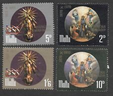 MALTA 1971 RELIGIOUS ANNIVERSARIES - SET OF 4 - SG 452 to 455 - Mint Hinged