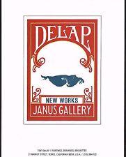 1970s Original Vintage Tony DeLap Art Janus Gallery Print Ad