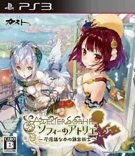 Used PS3 Atelier Sophie Japan import  Free Shipping