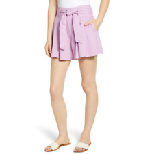 BP Plus Size High Waisted Tie Shorts (4X)