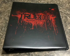 TRUE BLOOD SERIES 1 BINDER (Out of Print) w Promo Card P3 Mint Condition