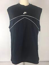 Mens Nike Black Sleeveless Basketball shirt Sz Xl