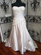 V228W BLUE BY ENZOANI EPINAL IV SZ 22 $1314 ZIP BACK  GOWN WEDDING DRESS