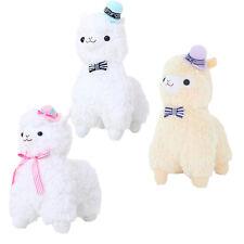 "14""18"" Kawaii Top Hat Alpaca Plush Toy Gentleman Llama Arpakasso Alpacasso Doll"