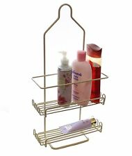 Ybm Home Two Tier Deluxe Shower Caddy Rack  with Shelves