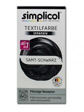 Simplicol 1818 Textilfarbe Intensiv All-in-1 flüssig, Samt-Schwarz