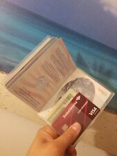 Clear Transparent Passport Cover Holder Protector, card, money. Buy 2 get 1 Free