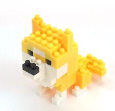 Shiba Inu Cute Japan Puppy Dog Micro Nano Blocks Building Lego Toy Puzzle Figure