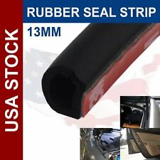 144inch Rubber Seal Strip Trim D Shape Hollow Black Door Edge Guard All Weather (Fits: Ford Windstar)