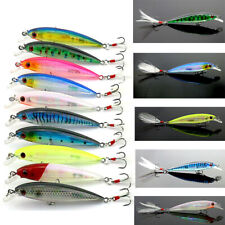 10 Pcs Mixed Bream Fishing Trout Lures Fish Lure Lot Tackle Freshwater Saltwater