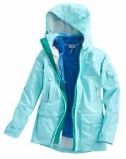 Vineyard Vines Women's 3 in 1 Rain Jacket Vest Crystal Blue $248.00 (XS) X-Small