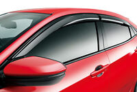 GENUINE MUGEN VENTILATED WINDOW DOOR VISOR FOR CIVIC TYPE R CTR FK8 2017- 2019