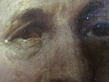 Peinture à l'huile Old Master par Sir Thomas Lawrence attr portrait début 19th siècle