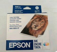 Epson C13T020201 Color Ink Cartridge 880, 882i, 83 EXPIRED
