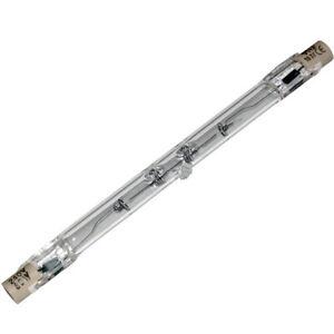 Linear Tungsten Halogen Light Bulb R7s 78mm & 118mm 48w, 80w, 120w, 240w & 400w