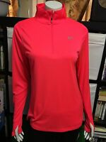 Under Armour M XL Active Heat Gear ORange Long Sleeves All Season NEW U Pick