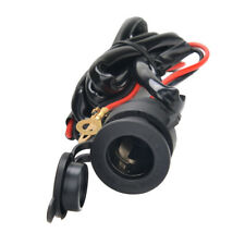12v Waterproof Car Boat Motorcycle Cigarette Lighter Socket Power Plug Outlet S
