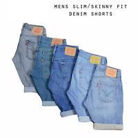 Mens Slim/Skinny Fit Vintage Levi Strauss Denim Shorts Various