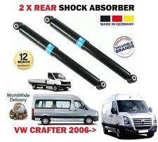 FOR VW CRAFTER 30-35 30-50 VAN BUS CHA 2006-> 2X REAR SHOCK ABSORBER SHOCKER SET