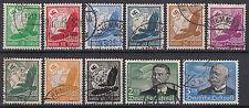 Echte gestempelte Briefmarken aus dem deutschen Reich (1933-1945)