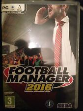 Football Manager 2016 Pc Cd / Steam Brand New Uk Pal Game