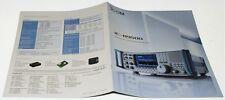 Original Color 8 Sided Brochure for the ICOM IC-R9500 PROFESSIONAL RECEIVER