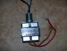 24 volt HVAC control circuit transformer 30 VA- 24 VAC output SPUD TYPE MOUNTING