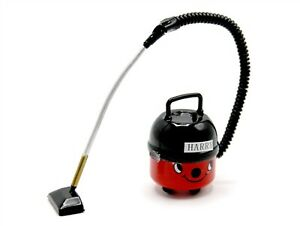 1:12 Scale Non Working Red Hoover Tumdee Dolls House Vacuum Cleaning