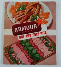 Vintage Recipe Booklet Pamphlet Amour Star Hot and Cold Hits Sausages