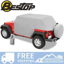 Bestop All Weather Trail Cover 07-18 Jeep Wrangler JKU 4 Door 81041-09 Charcoal