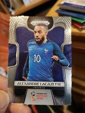 Alexandre Lacazette signé FRANCE PANINI coupe du monde 2018 PRIZM CARTE