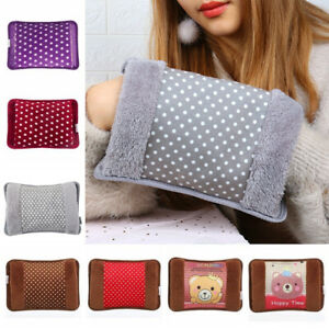 UK Warming Bag Hand Warmer Rechargeable Hand Hot Water Bottle Electric Heat Pad