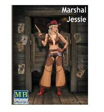 Master Box 1:24 Marshal Jessie Western Style Pin-Up Cowgirl Mbl24018