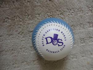 Vintage Northern League Duluth-Superior Dukes Souvenir Baseball  *