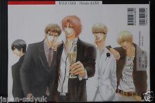 JAPAN Shiuko Kano Art & Manga Book: Wild Card