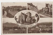 Brecon, 1950 RP Postcard, B092