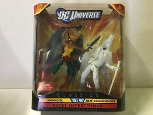 DC Universe Classics Fates Intertwined HAWKGIRL VS GENTLEMAN GHOST 2-Pack