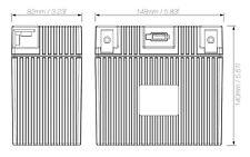 Shorai Lithium Iron Extreme-Rate Battery LFX21L6-BS12