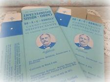 2 vintage veterinary boxes Dr. A.C. Daniels antique medicine disinfectant